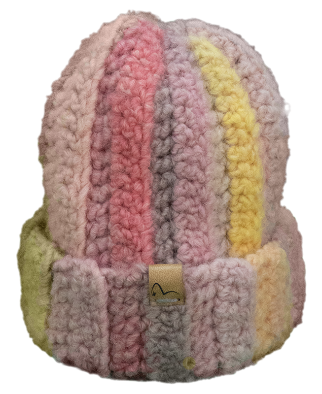 cappello multicolore